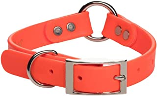 "Mendota DuraSoft Hunt Collar, Orange, 1"" by 26"""
