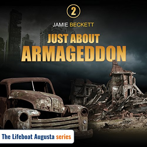 Just About Armageddon audiobook cover art