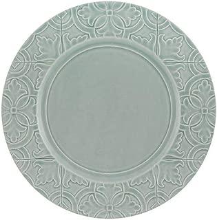 Bordallo Pinheiro Rua Nova Dinner Plate 28 Morning Blue - Set of 4