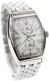 フランクミュラー FRANCK MULLER マスターバンカー 2852MB 腕時計 K18WG シルバー メンズ 自動巻き ホワイト文字盤 [中古]