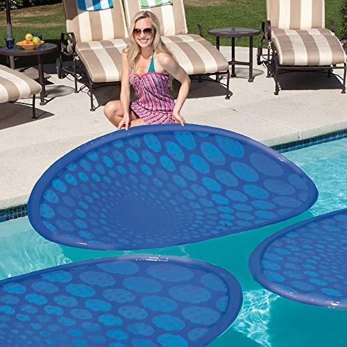 SwimWays Thermaspring Solar Mat 6 Pack , Blue