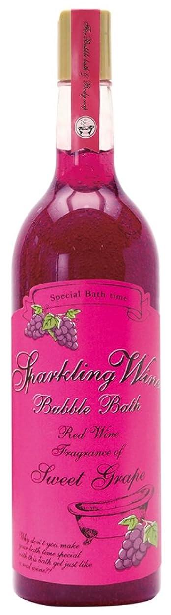 フロー断言する山積みのノルコーポレーション 入浴剤 バブルバス スパークリングワイン 大容量 810ml グレープの香り OB-WIB-3-1