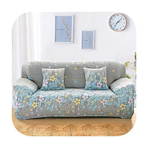 sofacover Elastischer Sofabezug für Wohnzimmer, L-Form, Sesselbezug, 1-2-Sitzer, 145-185 cm
