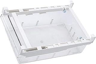 Cabilock Organisateur de Tiroir de Réfrigérateur Tiroir Rétractable Boîte de Rangement Transparente pour Réfrigérateur Bac...