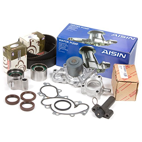 Compatible With 95-04 Toyota 3.4 DOHC 24V 5VZFE Timing Belt Kit w/Hydraulic Tensioner AISIN Water Pump