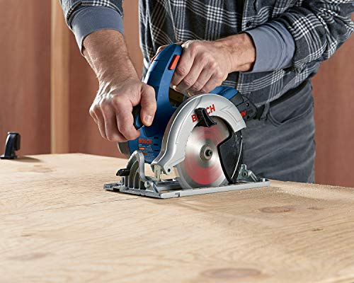 BOSCH CCS180-B15 18V 6-1/2 In. Circular Saw Kit with (1) CORE18V 4.0 Ah Compact Battery