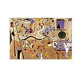Spanischer Surrealismus, Joan Miró, Karneval von Harlekin,