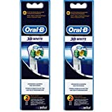 Oral-B 3D White Brush Heads - Pack of 4 by Braun -