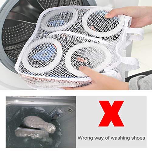 Nesee Sun Shoes Bag Mesh Bag Wash Shoes Bag Shoes Wash Bag Underwear Wash Bag Easy Home Tools