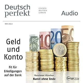 Deutsch perfekt Audio - Auf der Bank. 5/2013 cover art