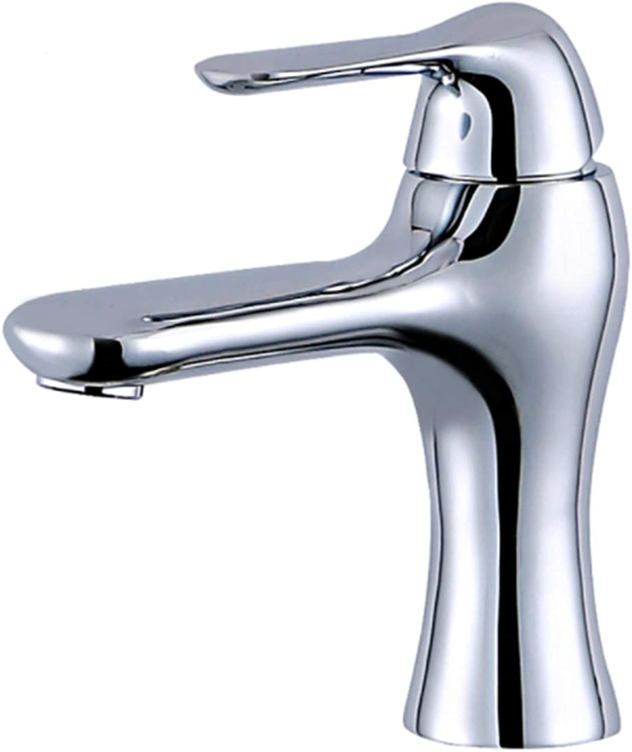 Taps Kitchen Basin Bathroom Washroombathroom Faucet Deck greenical Mounted Basin Chrome Sink Tap Vanity Brass Hot Cold Water Faucet White Painting Tap