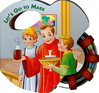Let's Go to Mass (Rattle Book) (St. Joseph Rattle Board Books)