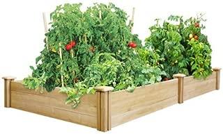 Greenes Fence 4' x 8' x 10.5 Cedar Raised Garden Bed