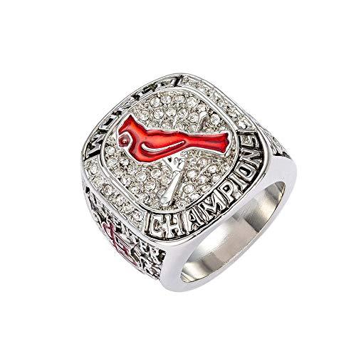 MDDCER Baseball-Meister-Ring MLB 2011 St. Louis Cardinals Sammlung Souvenirs Fans Geschenke 11