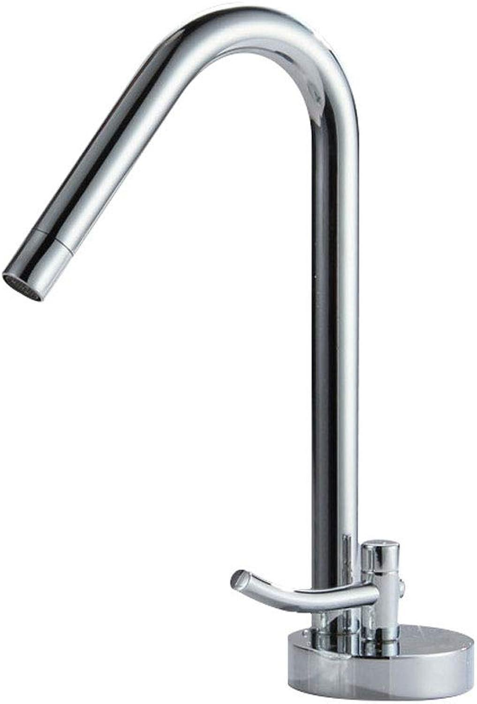 GR&ST Moderne Stil Mischbatterie Badezimmer Spüle Becken Wasserhahn Heable Hei und Kalt Alle Kupfer Wasser Einzigartige Schalter Design Wasserhhne