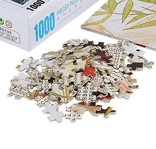 FENGZI Assassins Creed Valhalla Juego Escena de Juego Jigsaw Puzzles 300/500/1000/1500 Pieza de la decoración de la Pared del hogar Arte (Size : 1500Pieces)