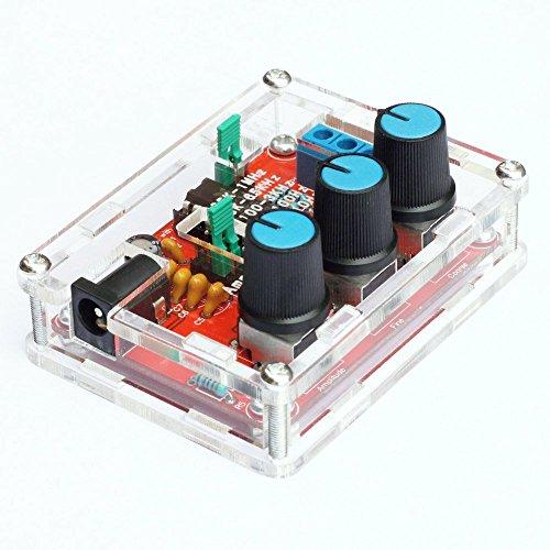 ARCELI XR2206 Función de Alta precisión Generador de señales Kit de Bricolaje Seno/Triángulo/Salida Cuadrada 1Hz-1MHz Amplitud de frecuencia Ajustable