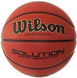 Wilson, Ballon de Basketball, Solution, Taille : 7, Intérieur, Rouge, Simili cuir, B0616X