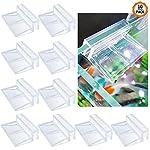 chudian-10-Stck-Acryl-Aquarium-Glasabdeckung-Clip-Untersttzung-Kunststoff-Glasdeckelbretter-Halterung-Regale-Support-Halter-geeignet-fr-6mm-GlasTransparent