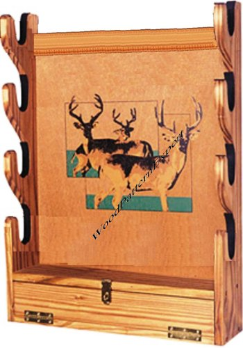 WoodPatternExpert Gun Rack Paper Plans SO Easy Beginners Look Like Experts Build Your Own SAN Angelo Wall Style to Hold Rifles Using This Step by Step DIY Patterns
