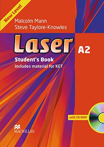 Laser A2. Student\'s Book + CD-ROM: includes Material for KET