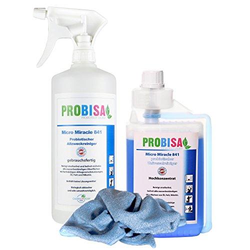 Probisa Micro Miracle 841 Bio-Detergente universale (Concentrato produce 25 Litri)