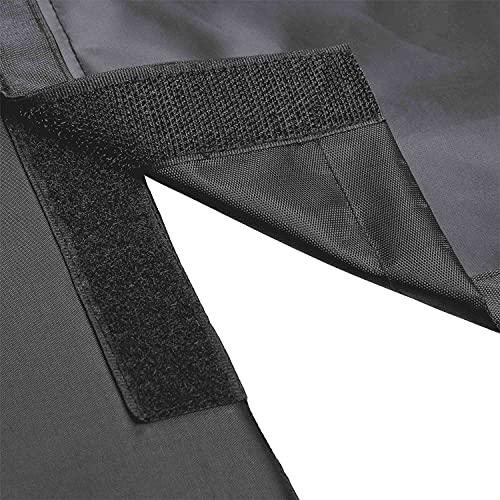 Trixie Lit de Coffre Voiture Noir/Gris 95 × 75 cm pour Chien