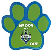 Officially licensed NHL logo Die cut magnet shaped like a dog's paw sporting your favourite team's logo! Measures 6 inches by 6 inches Officially licensed product