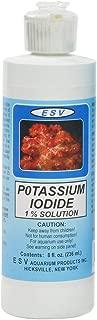 ESV Aquatics Potassium Iodide 1% Solution for Marine Plants and Coral Reef in Salt Water Aquariums, 8 Ounce