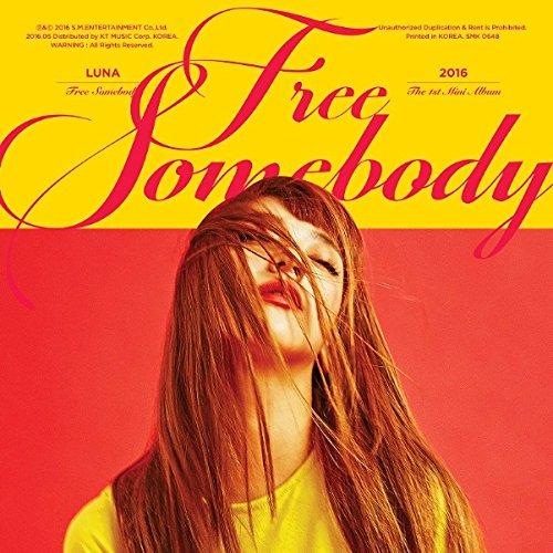 f(x): Luna Mini Album Vol. 1 - Free Somebody(official photocard)[+Luna autograph polaroid photocard][+f(x) Postcard][+f(x) sticker(10cmx15cm)]