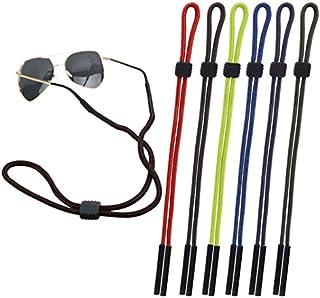 CandyHome 6 Pcs Sunglass Holder Strap Glasses Eyewear Retainer Cord Lanyard