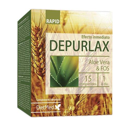 DietMed Depurlax Rapid - 15 Cápsulas