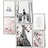 BLCKART Infinity Premium Rose Love Poster Set Bilder