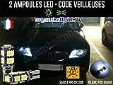 MyAutoLight - Coffret Ampoules Led Voiture - Veilleuses - Blanc Pur Xénon Pour Série 1 E81 E82 E87 E88