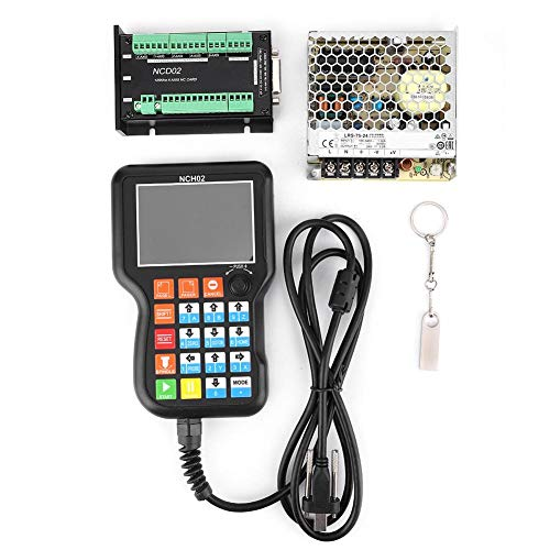 CNC motion controller systeemcontroller, NCH02 CNC motion controller systeemcontrollerkaart + 24 V schakelende voeding