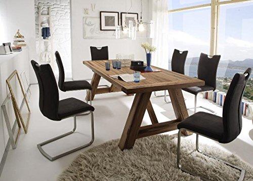 MCA Furniture BRIS22EB Esstisch BristolEiche massiv 220x100cm