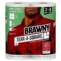 Brawny, Paper Towels, 2 Rolls
