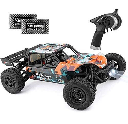 ラジコンカー HBX リモコンカー 1/18 2.4Ghz 4WD RTR 電動オフロードバギー 40 km/h 高速 RCカー 競技可能 ...