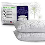 Adam Home Premium Pillows 2 Pack with Quilted Cover (2 Pack, Standard) -...