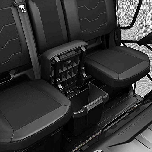 CDEFG for Land Rover Defender Console Organizer Center Console Insert ABS Black Material Armrest Organizer Tray Secondary Storage Box Compatible with 2020 Land Rover Defender 90 110 Accessories