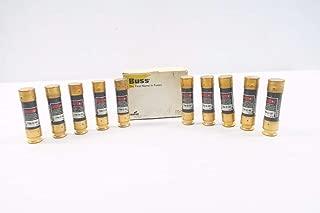 COOPER BUSSMANN FRN-R-60 FUSETRON BOX OF 10 TIME DELAY 60A 250V-AC FUSE D545149