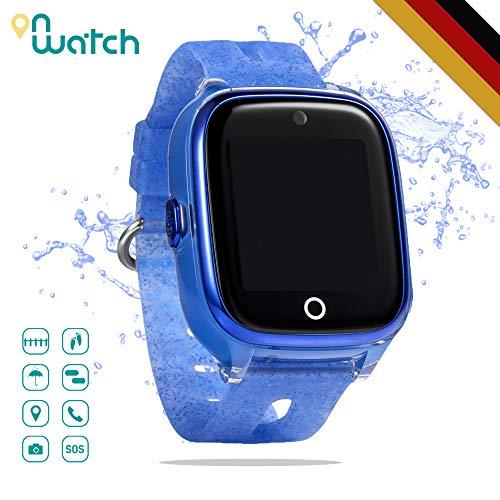 ON WATCH Smartwatch kinderen GPS + WiFi + Lbs + Agps met SIM-kaart, camera, wekker, chatten, activiteitstracker en nog veel meer horloge meisjes om je kinderen in het oog te houden
