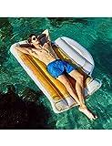 HGHFH Schwimmende Reihe 180 cm Riesen Aufblasbare Bier Tasse Pool Float Luftbett Für Erwachsene Kinder Wasser Spielzeug Luftmatratze Pool Spaß Strand Floß,