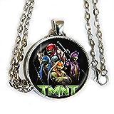 TMNT - Teenage Mutant Ninja Turtles movie inspired - pendant necklace - HM