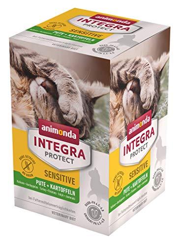 Animonda van de fijnste Integra Protect Sensitive kat, dieet, kattenvoer, voer bij allergieën in levensmiddelen, per stuk verpakt (1 x 600 grams)