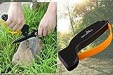 YOYAL - Afilador de cuchillos, color naranja, EDC Afilador de cuchillo La mejor opción para la supervivencia, Caza, Jardinería, Agricultura, Pescar, Equipo de campamento