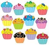 preschool birthday chart - Creative Teaching Cupcakes 6