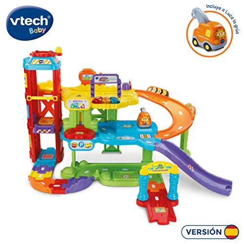 VTech - Supergaraje, Tut Tut Bólidos, incluye 3 canciones y 12 melodías con frases y sonidos (3480-180022) , color/modelo surtido