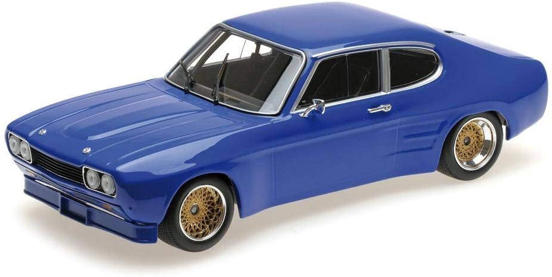 ahorra hasta un 50% Minichamps Minichamps Minichamps Ford Capri RS 2600 1970Coche de ferroCocheril de Collection, 155708501, Azul  barato y de moda
