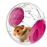 Emours Run-About Mini Balle d'exercice pour hamster pour petit animal Rose 12,2 cm